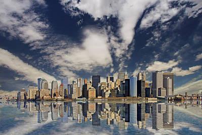 New York Print by Marcel Schauer