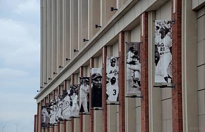 Stadium Scene Digital Art - New York Mets Of Old by Rob Hans