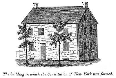New York: Senate, 1777 Print by Granger