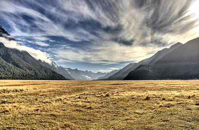 Aotearoa Photograph - New Zealand Road Trip by Andreas Hartmann