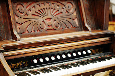 Pump Organ Photograph - Newman Bros 1 by Marilyn Hunt
