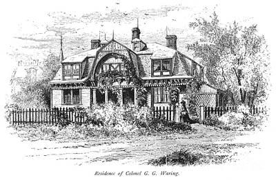 Newport: Villa, C1876 Print by Granger