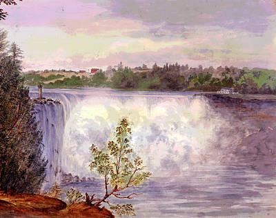 Niagara Falls Print by Charles Shoup