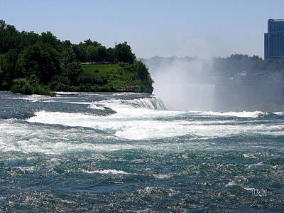 Photograph - Niagara Falls State Park by J R Baldini M Photog