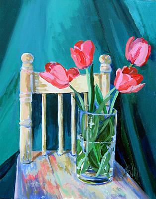 Painting - Niagara Tulips by J R Baldini