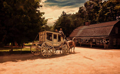 Horse And Cart Photograph - Nice And Easy by Lourry Legarde