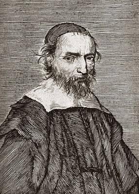 Nicolas Fabri De Peiresc, Astronomer Print by Middle Temple Library