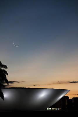 Y120831 Photograph - Nightfall by Janine Bergmann