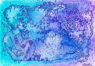 Nightmare Print by Hilda Tovar