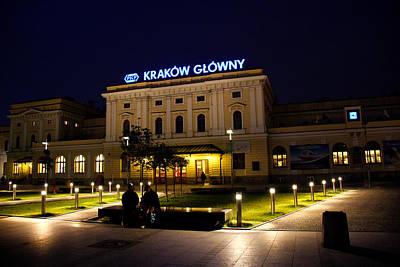 Cracow Photograph - Nighttime In Krakow by Kamil Swiatek