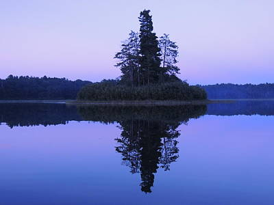 Muskellunge Photograph - No Man Is An Island by John Wanserski