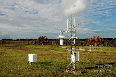 Noaa Photograph - Noaa Weather Station by Nasa