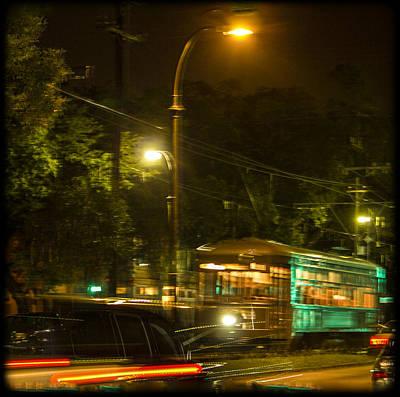 St Charles Avenue Photograph - Nola Streetcar by Shelley Bain