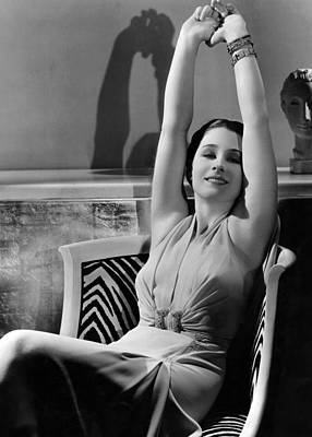 Hurrell Photograph - Norma Shearer, Mgm Portrait By Hurrell by Everett