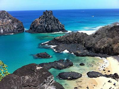 Noronha Print by by Marcos Barbosa