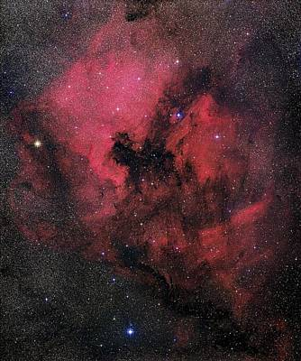 North America Nebula Print by Mpia-hd, Birkle, Slawik