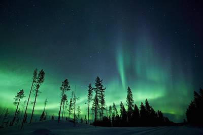 Northern Lights Print by Jeremy Walker