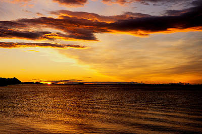 Lightscapes Photograph - Northern Sunset by Hakon Soreide