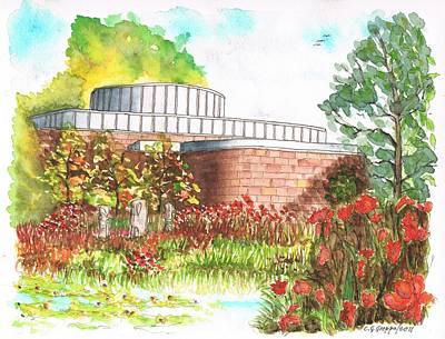 Norton Simon Museum Gardens - Pasadena - California Original by Carlos G Groppa