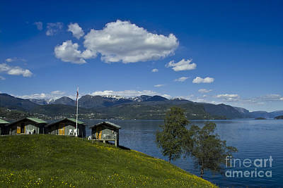 Waterscape Photograph - Norwegian Countryside by Heiko Koehrer-Wagner