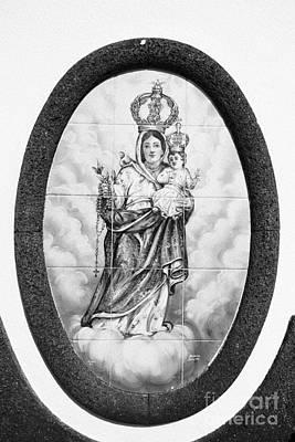 Nossa Senhora Da Paz Print by Gaspar Avila