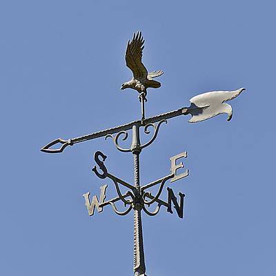 Nsew The Four Directions The Wind Blows Print by LeeAnn McLaneGoetz McLaneGoetzStudioLLCcom