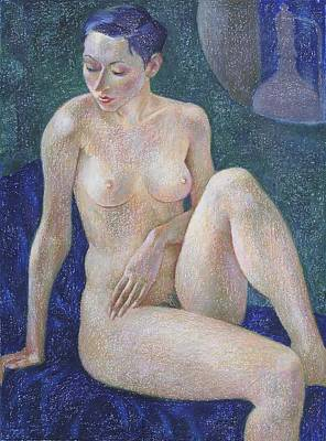 Nude Painting - Nu 29 by Leonid Petrushin