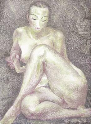 Nu 36 Print by Leonid Petrushin