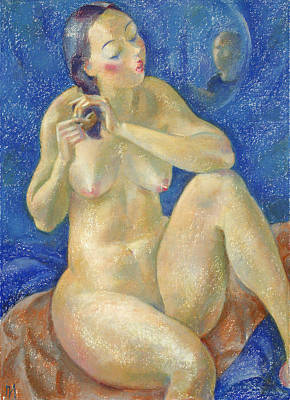 Nude Painting - Nu 40 by Leonid Petrushin