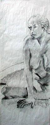 Nude 4794 Print by Elizabeth Parashis