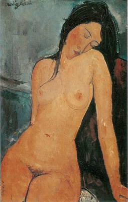 Nude Print by Amedeo Modigliani
