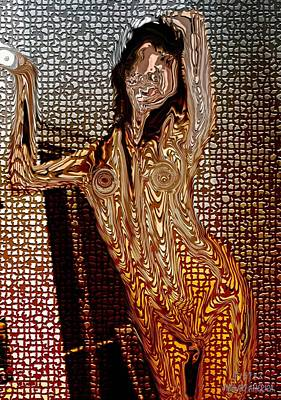 Pietyz Nature Digital Art - Nude Beauty Effectz 4 by Piety Dsilva