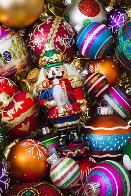 Nutcraker Ornament Print by Garry Gay