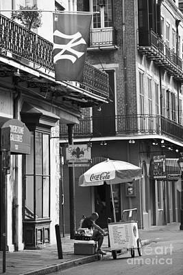 Leda Photograph - Ny Yankees On Royal Street by Leslie Leda