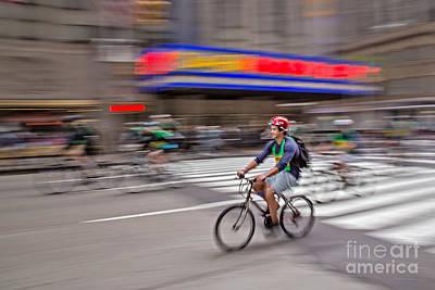 Boro Photograph - Nyc Bike Tour by Susan Candelario