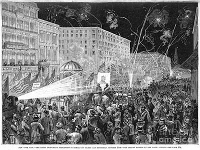 Nyc: Democrat Parade, 1876 Print by Granger