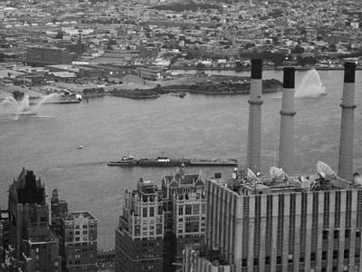 Chrysler Building Photograph - Nyc From The Top 4 by Naxart Studio