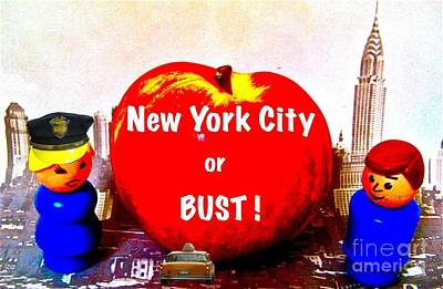 Nyc Or Bust Original by Ricky Sencion