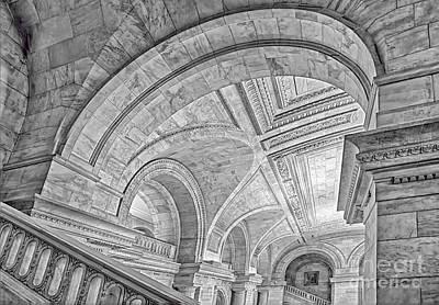 Building Photograph - Nyc Public Library by Susan Candelario