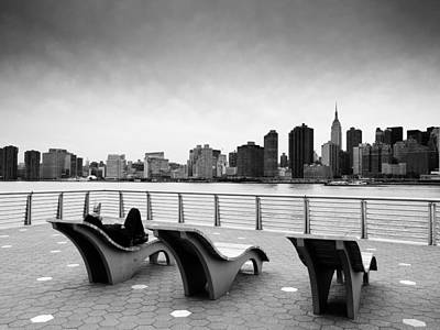 Empire State Photograph - Nyc Relax by Nina Papiorek