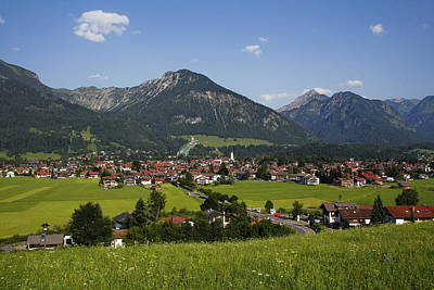 Y120831 Photograph - Oberstdorf, Allgäu Alps, Bavaria by Hans-Peter Merten
