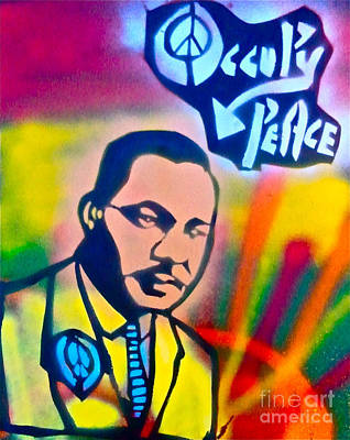 Liberal Painting - Occupy Dr. King by Tony B Conscious
