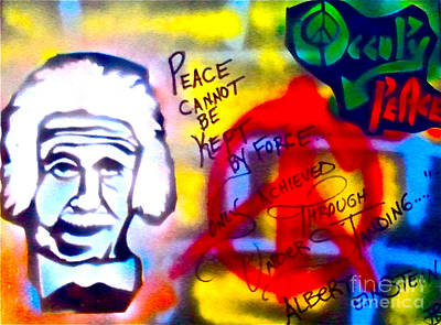 Occupy Painting - Occupy Einstein by Tony B Conscious