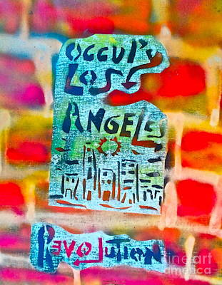 Conscious Painting - Occupy Los Angeles by Tony B Conscious