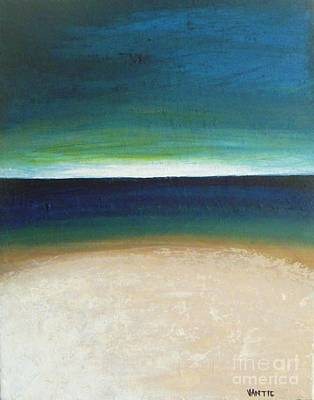 White Sand Beach Original by Vesna Antic