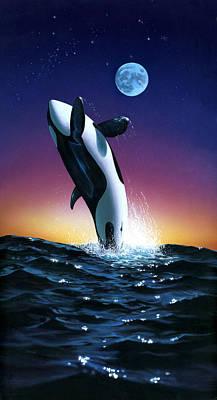 Ocean Leap Print by MGL Studio - Chris Hiett