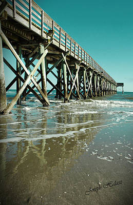 Ocean Pier Original by Joseph Halasz