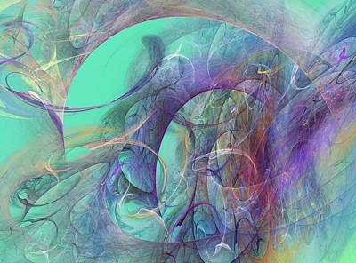 Abstract Digital Art - Ocean Symphony I by Betsy C Knapp