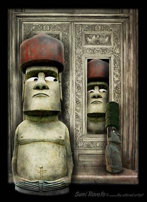 Odd Man Out Print by Suni Roveto
