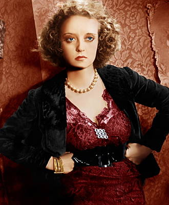 Of Human Bondage, Bette Davis, 1934 Print by Everett